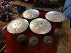 "Центральные колпачки на штампованные диски R13 Nissan. Диаметр Диаметр: 13"", 4 шт."