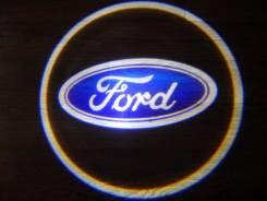 Беспроводная лазерная проекция логотипа в двери FORD