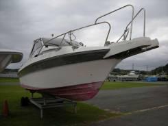 Корпус и палубное оборудование. Год: 1991 год, длина 7,92м., двигатель подвесной, бензин
