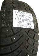 Michelin X-Ice North XIN2. Зимние, шипованные, 2012 год, износ: 30%, 1 шт