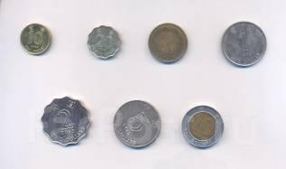 Набор монет Гонконг 7 шт.