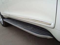 Накладка на дверь. Toyota Land Cruiser Prado, GDJ150, GDJ150L, GDJ150W, GRJ150, GRJ150L, GRJ150W, KDJ150, KDJ150L, TRJ150, TRJ150L, TRJ150W