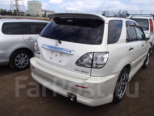 Спойлер. Toyota Harrier
