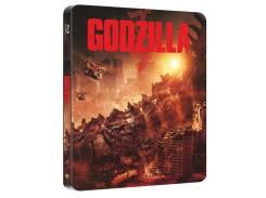 Годзилла (железный бокс) (Real 3D Blu-Ray+Blu-Ray)