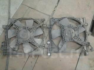 Вентилятор радиатора кондиционера. Subaru Impreza, GG2 Двигатель EJ15