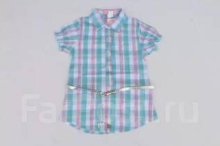 Модная рубашка с ремнем!. Рост: 116-122 см