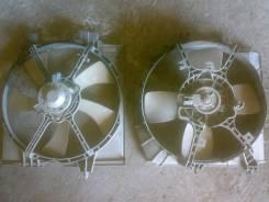Вентилятор охлаждения радиатора. Mazda Familia, BJ5W Двигатель ZLDE
