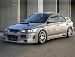 Накладка на крыло. Subaru Impreza WRX, GC8, GC8LD3 Subaru Impreza WRX STI, GC8