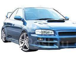 Расширитель крыла. Subaru Impreza WRX, GC8