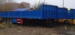 Tongyada. Бортовой контейнеровоз, пневмоподвеска, односкатный, 40 000 кг.