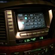 Монитор штатный(дисплей)Lexus Lx 470 03-07г. в.