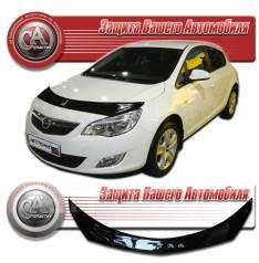 Дефлектор капота. Opel Astra, L48, F07, P10, F70, L35, F69, F08, F48, L69, L67 Двигатели: Z22SE, A16LET, X16SZR, Z18XE, A14XER, X14XE, Z16SE, Z16XER...