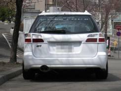 Накладка на дверь багажника. Subaru Legacy, BHC, BH9, BH5, BHE