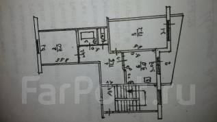 2-комнатная, Уссурийская ул 52. 11 квартал, частное лицо, 55 кв.м.