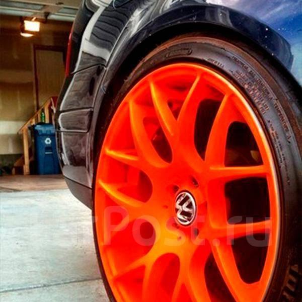 Ядовито оранжевый цвет