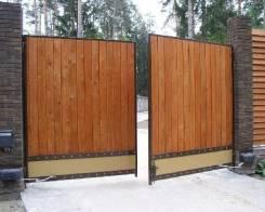 Ворота секционные.