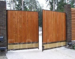 Рольставни, секционные ворота, откатные ворота, шлагбаумы
