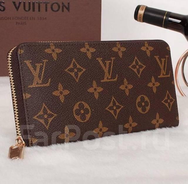 3f2d4bcd3f52 Кошелек Louis Vuitton Zipper Monogram Canvas - Аксессуары и ...