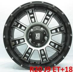 XD Series. 9.0x20, 5x150.00, ET18, ЦО 110,0мм.