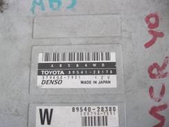 Блок управления. Toyota Estima, MCR40, ACR40 Двигатели: 2AZFE, 1MZFE