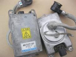 Блок ксенона. Mitsubishi Pajero, V75W Двигатели: 6G74 GDI, 6G74, GDI