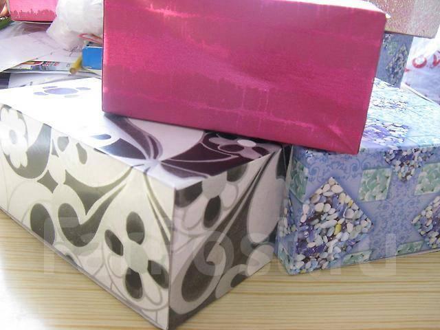 Подарочные коробочки 3 шт