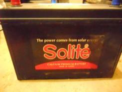 Solite. 90 А.ч., правое крепление, производство Корея