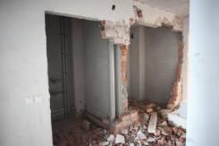 Ломаем стены, перегородки, демонтаж перегородок, демонтаж пола.