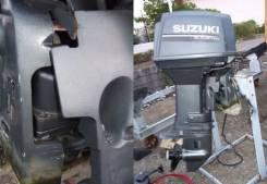 Suzuki. 50,00л.с., 2-тактный, бензиновый, нога L (508 мм), Год: 2005 год