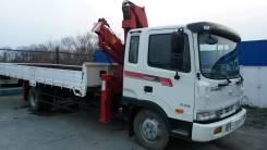 Hyundai Mega Truck. Кран-балка, кран манипулятор, 5 000кг., 10,00м.