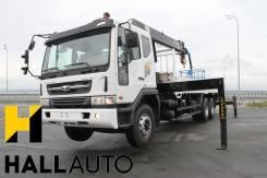 Daewoo Novus. Новый грузовик (15 тонн )2014г +КМУ HIAB190TM(8тонн), 11 051 куб. см., 15 000 кг.