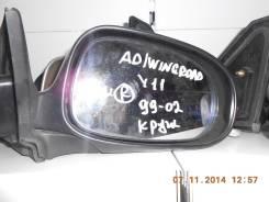 Зеркало заднего вида боковое. Nissan Wingroad, WHY11