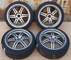 Bridgestone. 7.5/8.5x18, 5x114.30, ET38/36