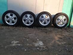 Японское литье Toyota с резиной Dunlop 225/55r17 с 5% износа. 7.0x17 5x114.30 ET45
