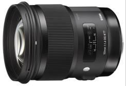 """Новый Sigma AF 50/1.4 DG HSM Art Nikon, Canon. В Наличии! """"Тапир-фото"""". Для Nikon"""