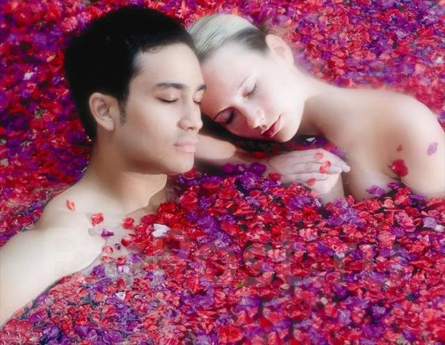 Специальное предложение для влюбленных с 50 % скидкой от спа Мята. Акция длится до 31 августа