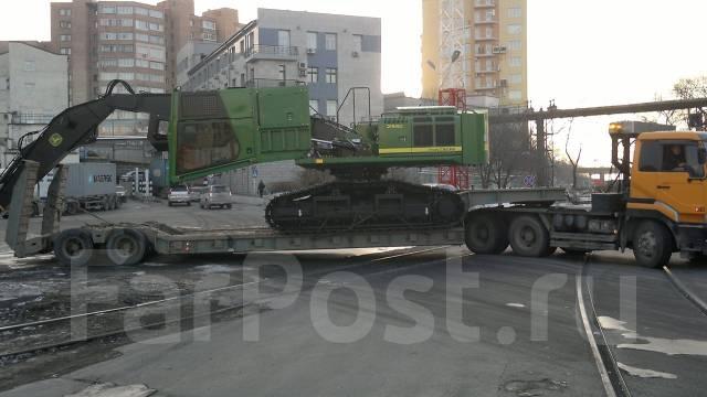 Грузоперевозки спецтехники по городу, Приморскому краю, России.