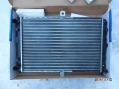 Радиатор охлаждения двигателя. Chevrolet Lanos, T100 ЗАЗ Шанс Daewoo Lanos Daewoo Sens, T100