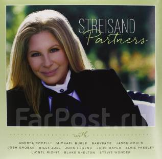 Barbra Streisand - Partners (2Vinyl LP+CD)