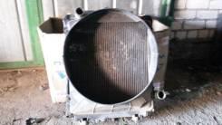 Радиатор охлаждения двигателя. Mitsubishi Canter, FG50EB Двигатель 4M51