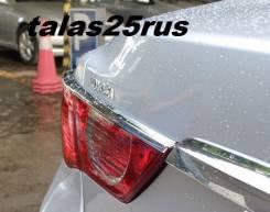 Накладка на стоп-сигнал. Toyota Mark X, GRX133, GRX130, GRX135