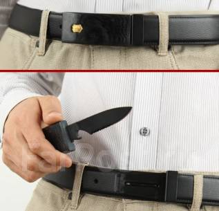 Кожаный Ремень-Нож Victorinox Vl-1132 (подарочная коробка)