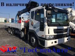 Daewoo Novus. 9,5 тонн c КМУ Hiab 190, 7 640 куб. см., 9 500 кг.
