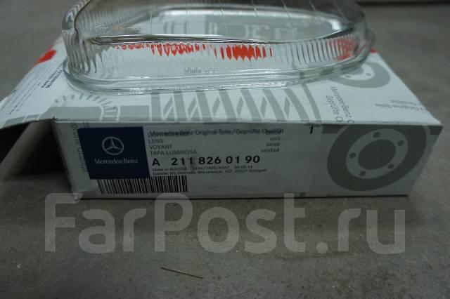 Стекло противотуманной фары. Mercedes-Benz E-Class, W211