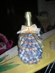 Новогодняя елочка из конфет!. Под заказ