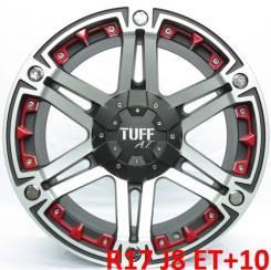 """Tuff A.T. T-01. 8.0x17"""", 5x114.30, 5x127.00, ET10, ЦО 71,6мм."""