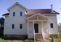 Дом в п. Икша ул. Дубрава. Дубрава, р-н Икша, площадь дома 190,0кв.м., площадь участка 500кв.м., скважина, электричество 8 кВт, отопление газ, от...