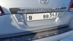 Накладка багажника. Toyota Land Cruiser