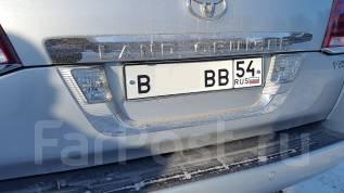 Накладка багажника. Toyota Land Cruiser, VDJ200, UZJ200W, J200, GRJ200, URJ200, UZJ200 Двигатели: 1VDFTV, 2UZFE, 3URFE, 1GRFE