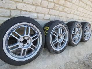 Black Racing. 7.0x17, 5x100.00, ET50